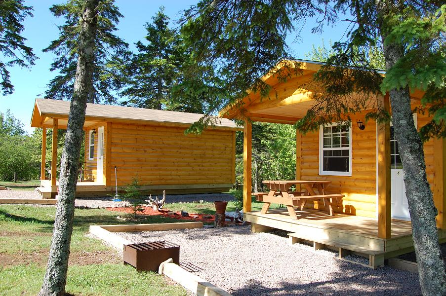 Cabins Baddeck Cabot Trail Campground